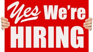 Yes We Are Hiring!